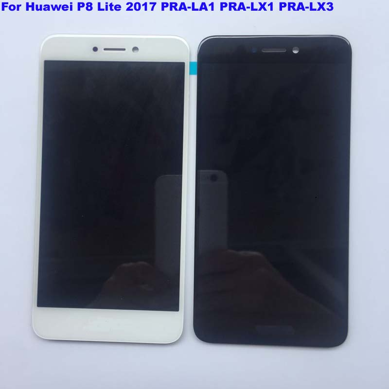 imágenes para 5.2 ''full lcd display + touch screen asamblea del digitizador para huawei p8 lite 2017 pra-la1 pra-lx1 pra-lx3; nuevo; 100% Probado
