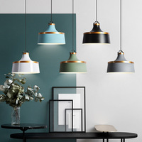 Single head Nordic Chandelier Postmodern Danish Style Restaurant Light Dining Room Bar Lamp Coffee Shop Light Free Shipping