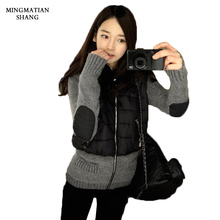 Winter Jacket Women Coats Parka Jackets Manteau Femme Female Ukraine Canada Woman 2017 Sprin Ladies Quilted Hooded Down Clothing(China)