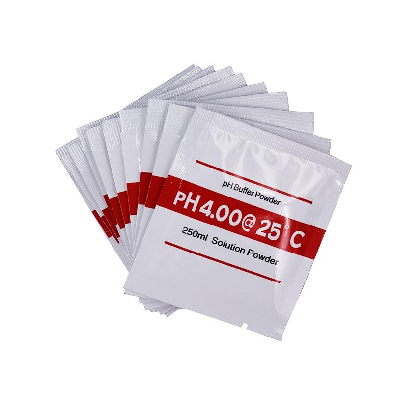 20 db PH pufferpor a PH tesztmérőhöz. Mérje meg a kalibrációs - Mérőműszerek - Fénykép 2
