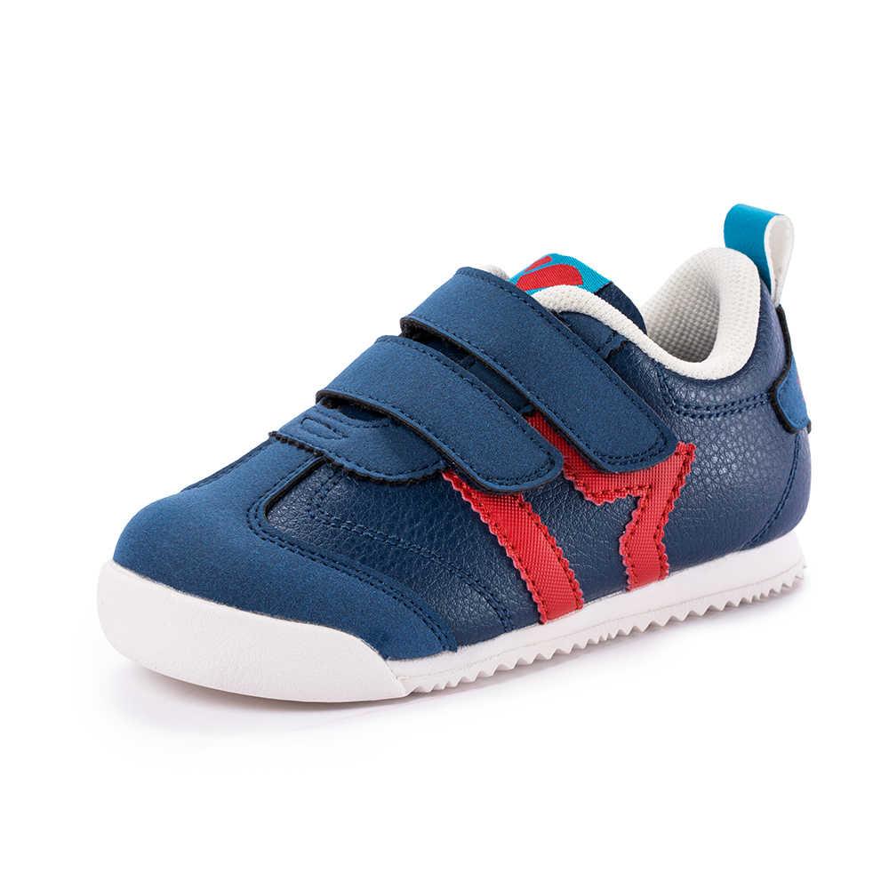 Balabala ילדי תינוקת אופנה סניקרס עם כפול וו & לולאת אטב פעוט ילדים אנטי להחליק סניקרס בנות בני ריצה נעליים