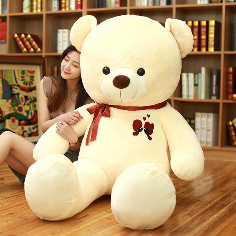 Image 2 - 1PC Large Teddy Bear Plush Toy Lovely Giant Bear Huge Stuffed Soft Dolls Kids Toy Birthday Gift For Girlfriend-in Stuffed & Plush Animals from Toys & Hobbies