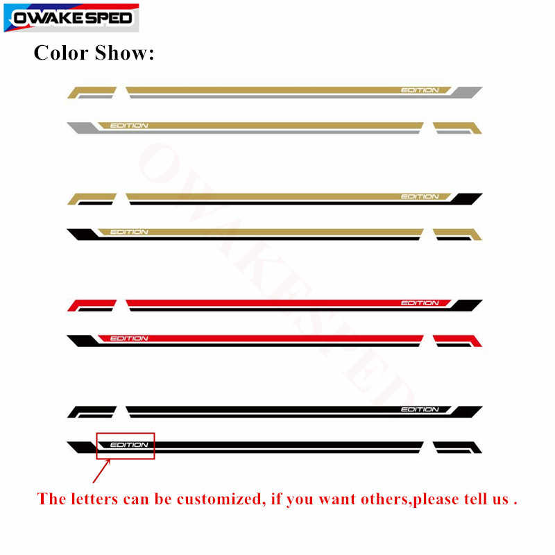 71eb070346 ... For Volkswagen Multivan T5 T6 California Edition Auto Side Skirt Stripes  Car Customized Vinyl Decal Car ...