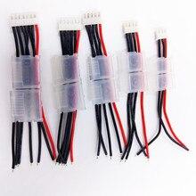 Lipo батарея баланс кабель провода w замок 2s 3s 4S 5S 6s Imax B6 разъем 100 мм 22AWG диаметр 0,08 до 200 градусов супер мягкий