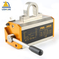 LISHUAI 300KG 660Lbs Permanent Magnetic Lifter Permanent Lifting Magnet For Steel Plate With CE Certified PML