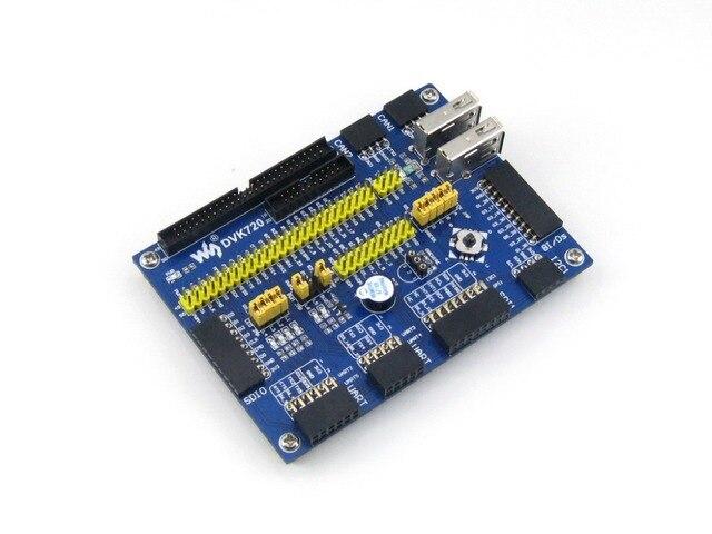 DVK720 для i. MX 6 E9 ARM Cortex-A9 mini PC Расширение Совет по развитию с Различными SDIO Интерфейсы UART SPI I2C USB МОЖЕТ