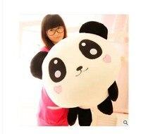 Stuffed animal smiley panda Laying Panda about 31 inch plush toy 80 cm doll GIFT wp4738