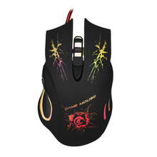 Mosunx Latest Design HOT 5500 DPI 6D LED Optical USB Wired PRO Game Mouse For PC Laptop Gaming July 18