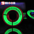 Luminous Glow ignition switch decoration Key Ring Sticker for skoda Octavia Fabia YETI vw passat Bora POLO GOLF 6 Jetta MK5 MK6