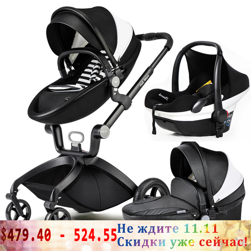 hot mom baby stroller high landscape can sit in the baby car portable baby trolley suspension folding baby trolley portability portability can sit baby trolley summer folding umbrella car high landscape baby car stroller