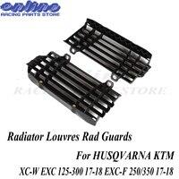 Radiator Louvres Rad Guards For HUSQVARNA KTM SX SXF XCF XCW EXC EXCF TE FE TC FC 125 150 250 300 350 450 500 Motocross Enduro