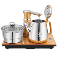 Intelligent Stainless Steel Electric Tea Service Set Automatic Electric Tea Kettle For Tea Bubble Tea Stove