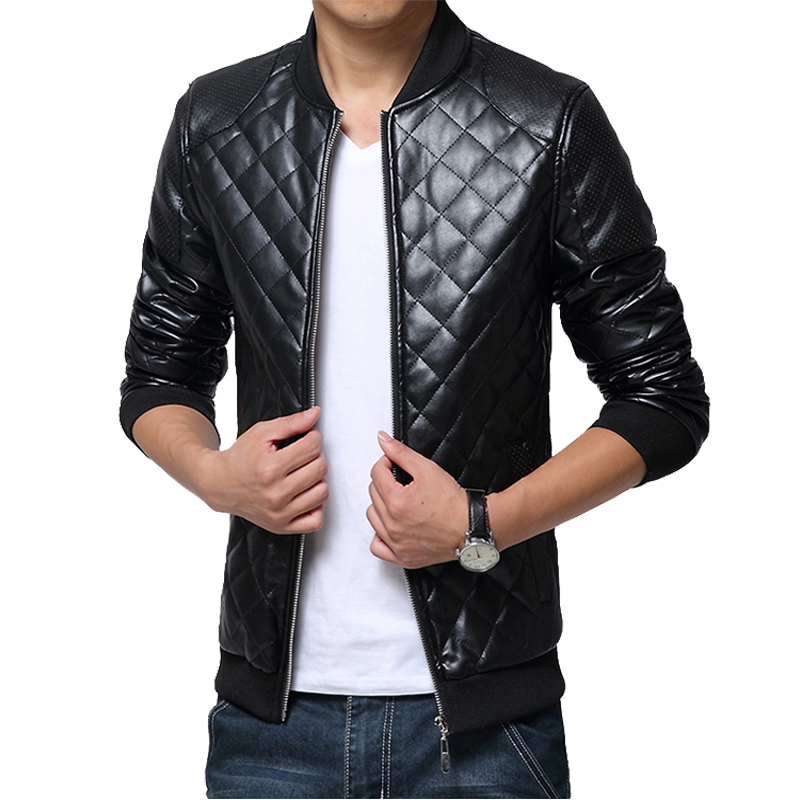 Compare Prices on Leather Jacket Motorcycle Men- Online Shopping ...