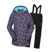 Dollplus Children Sets Winter Sport Suit for Girl Clothes 2019 Kids Girls Warm Jacket Set Windproof Waterproof Suits