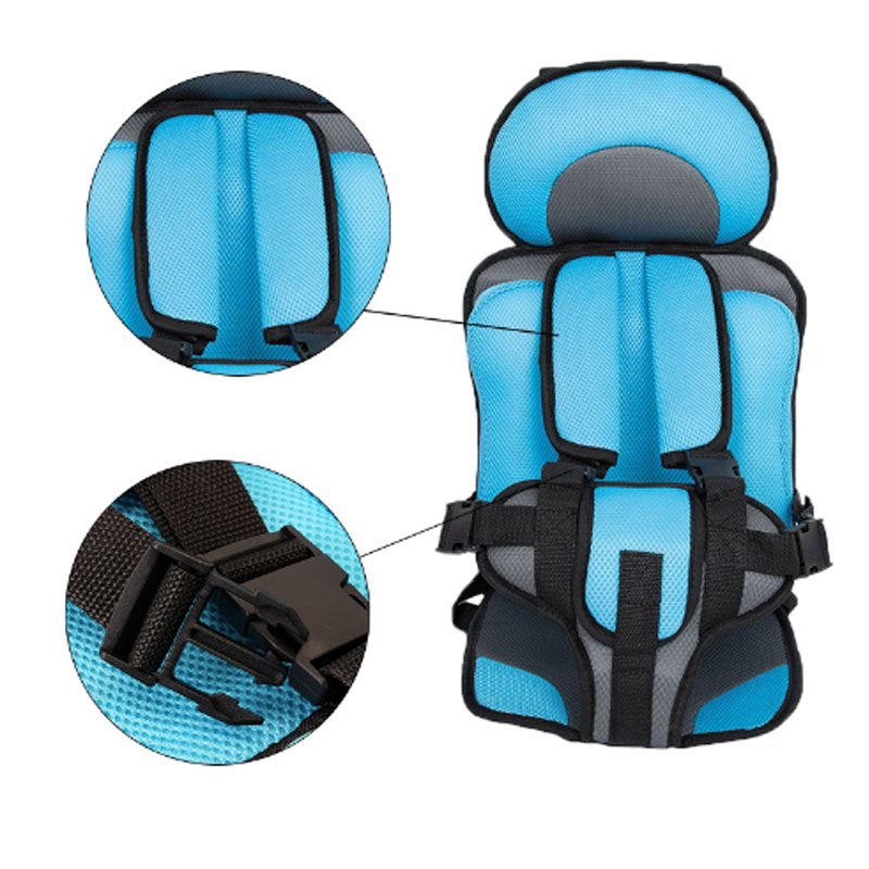 Adjustable child car safety seat 3-6 year old baby portable safety seat