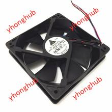 купить Free Shipping For DELTA  AFB1224SH -S15R  DC 24V 0.42A 3-wire 3-pin connector 80mm 120x120X25mm Server Square fan онлайн