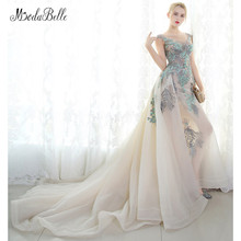 modabelle Arabic Evening Dress Embroidered Robe Prom Dress