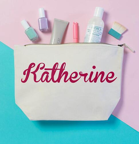 Make Wedding Gift: Personalized Name Birthday Wedding Gift Make Up Cosmetic