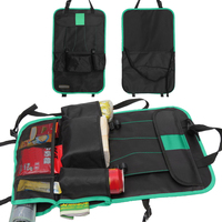 Auto Car Back Seat Organizer Holder Multi-Pocket Car Hanging Bag Protective Covers Car Rear Seats Pouch for ipad