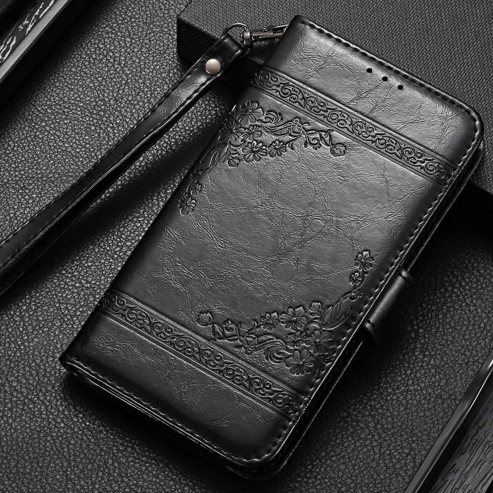 Üzerinde P20 Lite 2019 Cüzdan Kılıf için Huawei P20 Lite 2019 Kapak Kickstand Durumda Huawei Onur 20 Pro 10i 20i P Akıllı Z Gömme Kılıf