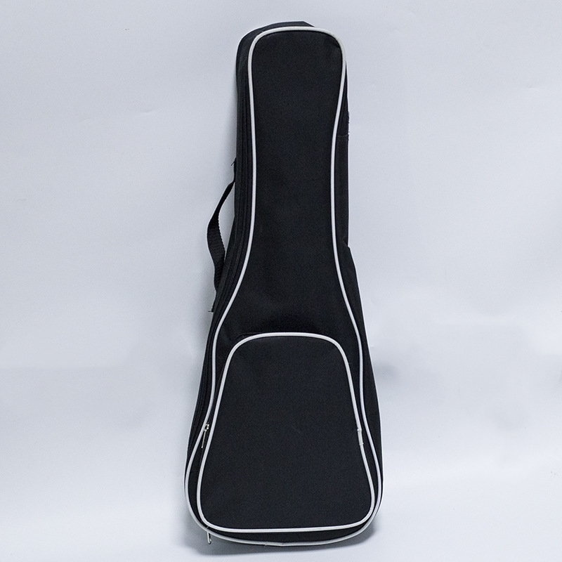21-26'' Ukulele Bag Waterproof 4 Strings Guitar UKU Cover Gig Bag Soft Case Light Gear Black Uke Ukelele Bags 21 inch colorful ukulele bag 10mm cotton soft case gig bag mini guitar ukelele backpack 2 colors optional