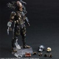 Play Arts Alien 2 Predator Action Figure PVC Doll 26cm