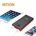 Ibtion 20000 mah portátil power bank carregador de bateria externa para iphone 7 7 mais 6 6 s plus 6 6 s 5 5S para samsung galaxy telefones