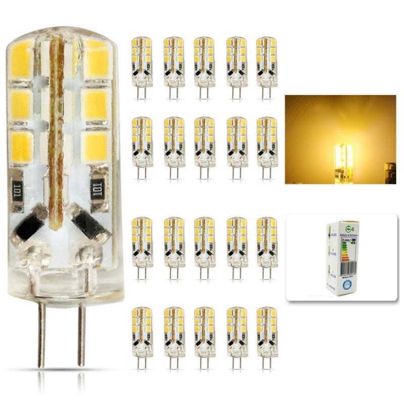 20pcs/lot led G4 2835 SMD 6W DC 12V G4 24LED Lamp halogen lamp g4 led 12v LED Bulb lamps warranty 2Y Lighting Spotlight цоколь лампы led g4 10pcs lot g4 g4 lampcrystal 163