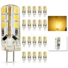 20pcs/lot led G4 2835 SMD 6W DC 12V G4 24LED Lamp halogen lamp g4 led 12v LED Bulb lamps warranty 2Y Lighting Spotlight
