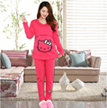 New Style Pregnant Warm Sleepwear Sets Comfortable Thicken Pajamas Baby Nuring For Maternity  Long sleeve Home wear