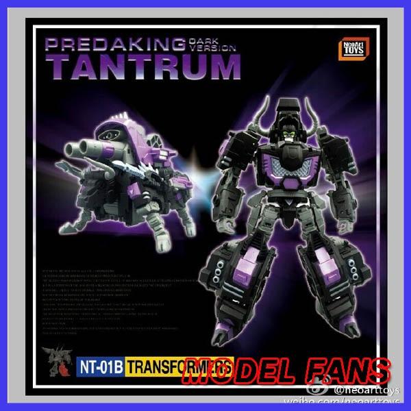 цена на MODEL FANS IN-STOCK neoart toys ko MMC Transformation robot black Predaking Tantrum Rhino bison freeshipping