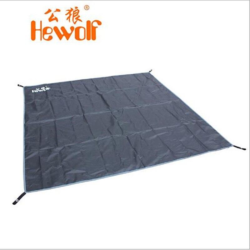 Jemná propagace Tarp Airbed Vodotěsný venkovní piknik Pláž Camping Mat Camping Tarpaulin Bay Play Mat Plaid deka 195 * 190