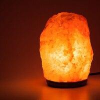 Natural Himalayan Salt Lamp Night Light Lava Lamp Table Lamps For Air Purifier Mood Light Luminaria Birthday Mother's Day Gift
