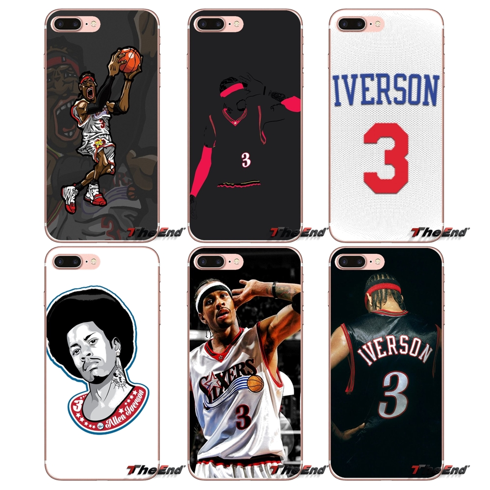 e368ed353732 Detail Feedback Questions about basketball star Allen Iverson 3 Phone Case  For Samsung Galaxy S2 S3 S4 S5 MINI S6 S7 edge S8 S9 Plus Note 2 3 4 5 8  Coque ...
