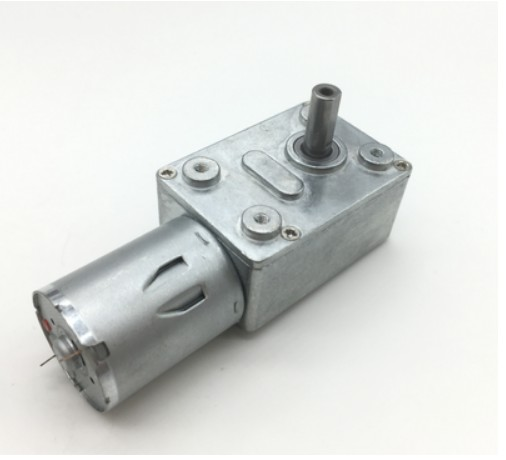 JGY370 DC6V/12V24V 2RPM To 150 RPM High Torque Speed Reducer Metal Worm Gear Box Motors Reversible Low Speed Worm Gear Motor