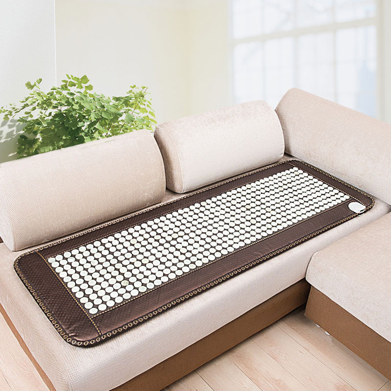 Free shipping POP RELAX heating tourmaline magnetic therapy flat mat PR-C06A Germanium stone physiotherapy pad 50x150cm pop relax negative ion magnetic therapy tourmaline mat pr c06a 55x120cm ce page 9