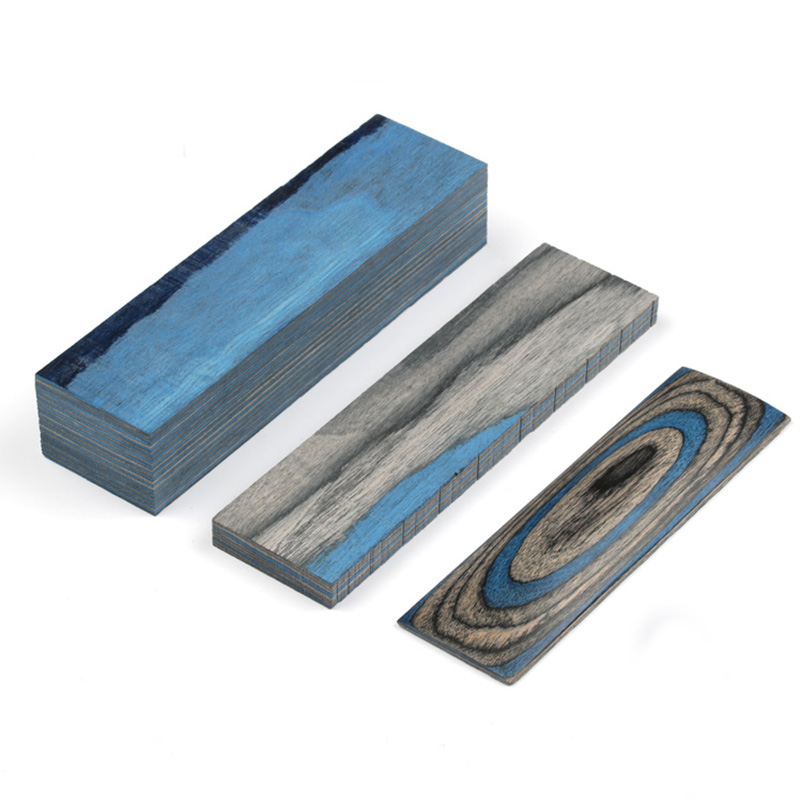 Various Sizes Color Laminated Wood Diy Knife Handles Making Material Blanks For Handicrafts Materials 1piece In Tool Parts From Tools On