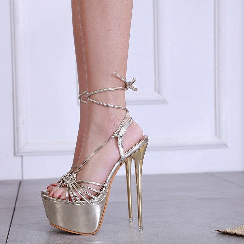Gold Platform Sandals Women 2019 New