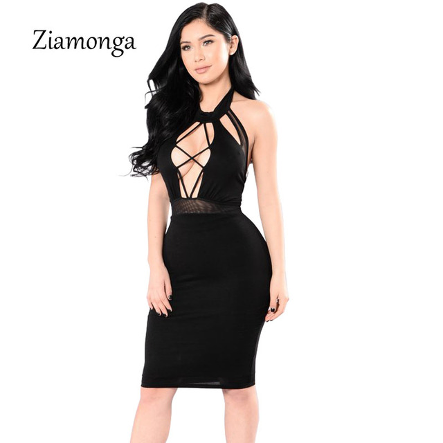 Midi Bandage Dress Fashion