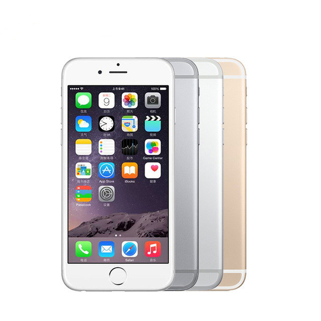 Unlocked Apple iPhone 6 Plus 5.5'' Cell Phones IOS IPS 1GB RAM 64G 16G 128G ROM GSM WCDMA LTE Refurbished Mobile Phone