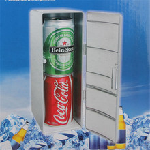 Portable Mini Fridge Beverage Drink Cans Cooler/Warmer Fridge Refrigerator USB Fridge Cooler Power for Laptop PC USB Gadgets