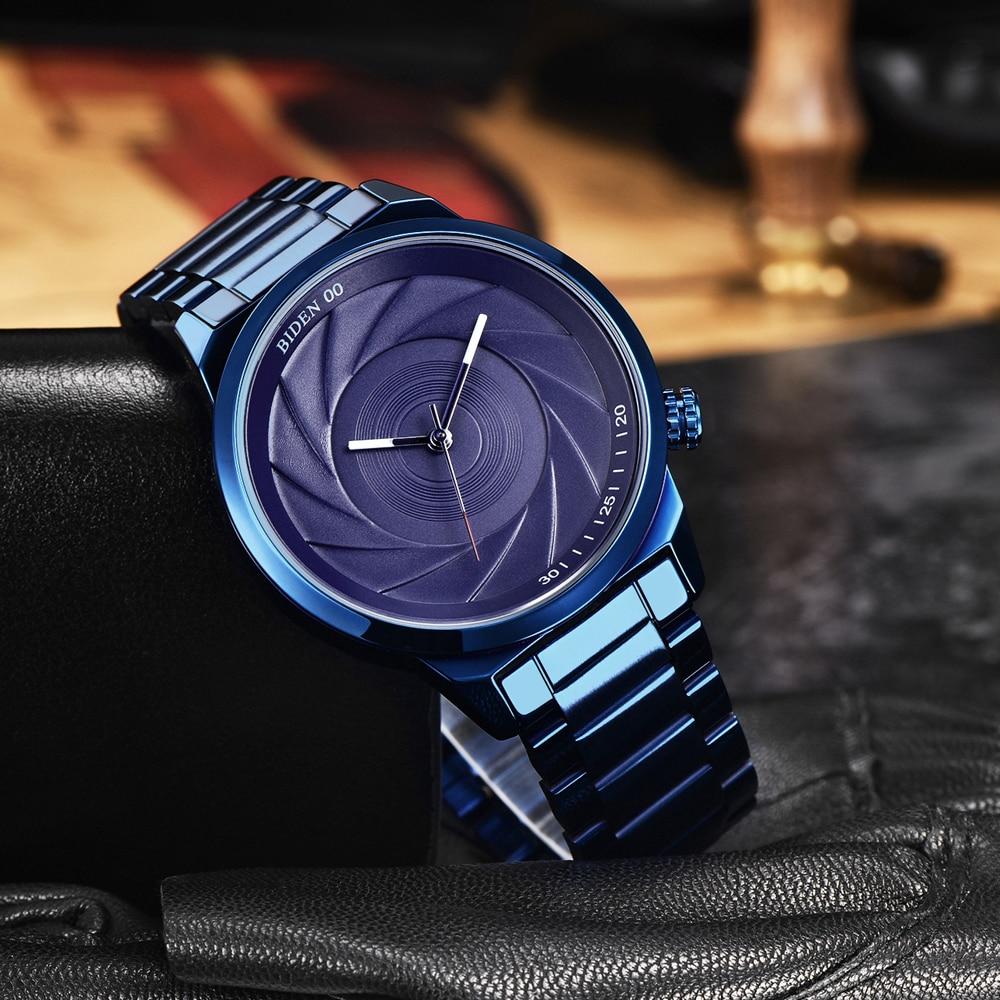BIDEN BD0109 Photographer Series Creative Wrist Watch 8