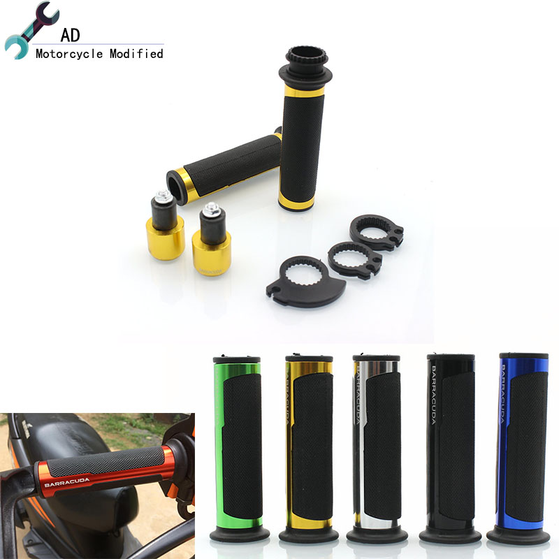 AD For Yamaha R1 R6 R1M YZF-R6 YZF-R1M Accessories 7/8 22MM Motorcycle Hand Grips Ends Plugs Handle bar Motorbike Parts