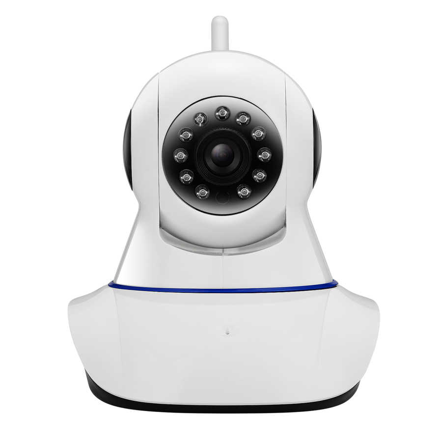 Akses Internet Nirkabel Sistem Alarm Keamanan Rumah IOS/Android Smartphone APP Gerakan Mendeteksi Alarm