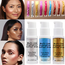 TREEINSIDE 2803 Shimmering Skin Perfector Liquid Highlighter helps illuminate skin for a lifted contour effect