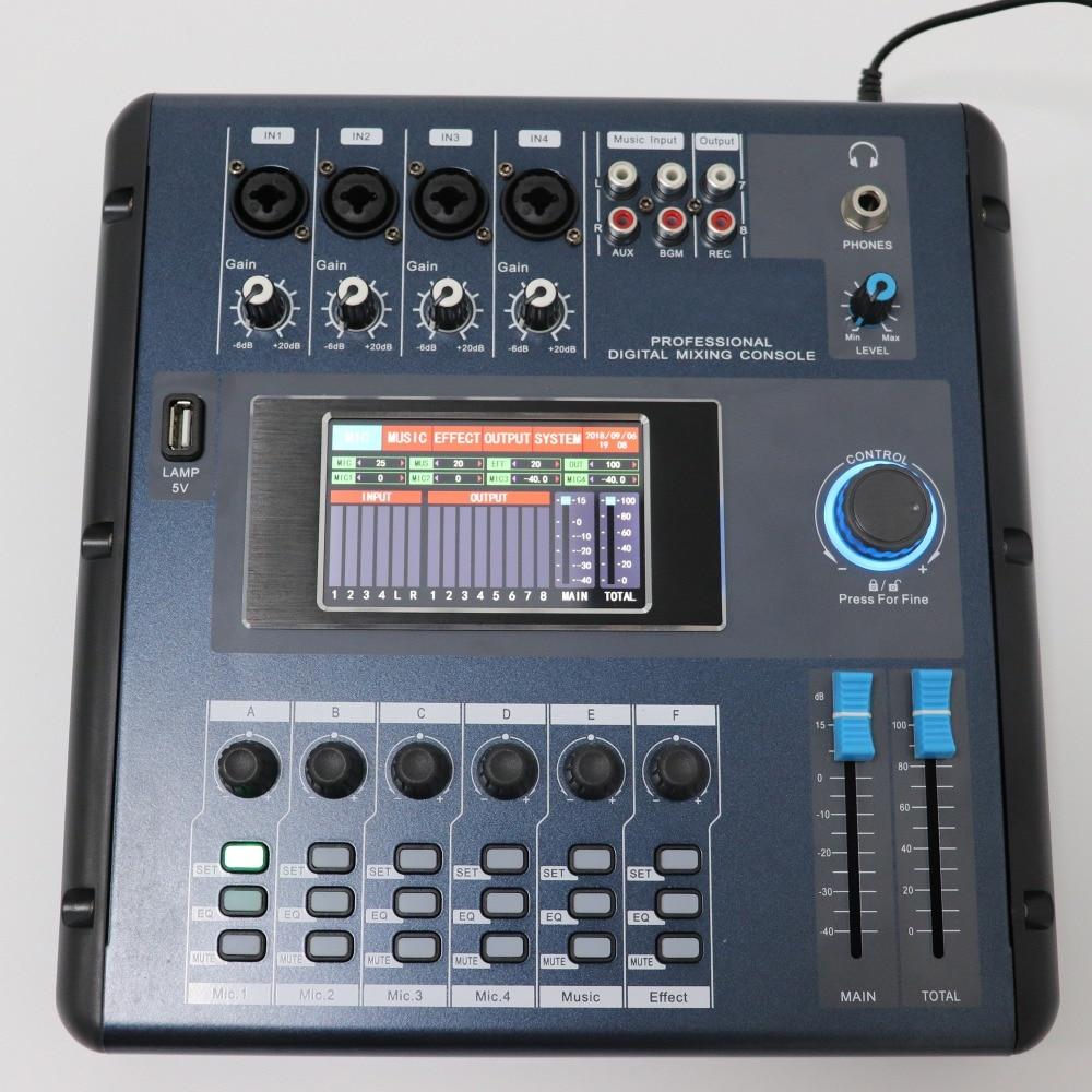 18249.07руб. |Betagear сенсорный экран M2006 цифровой миксер аудио профессиональные микшерные консоли мини звуковой миксер equipos de musica|Аудиооборудование| |  - AliExpress