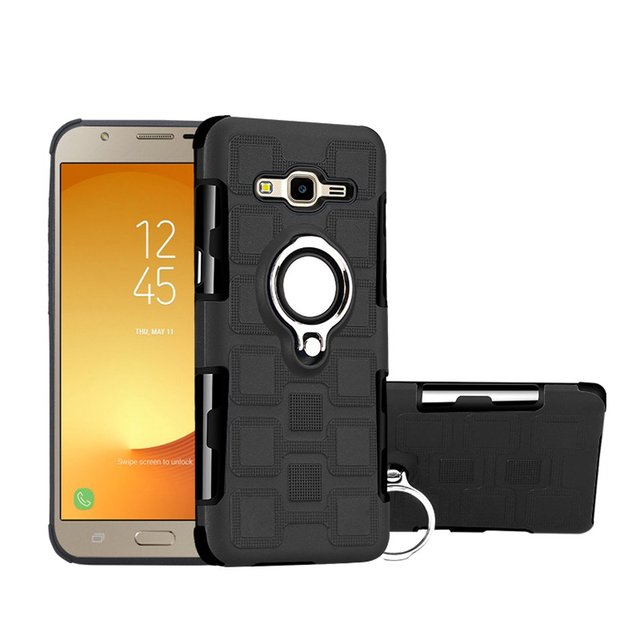 hot sale online e7493 8964b US $3.25 |For Samsung Galaxy J7 NXT Back Cover Heavy Duty Armor Case for  Galaxy J7 NXT(Galaxy J7 Core 2017) Coque Metal Finger Ring Fundas-in ...