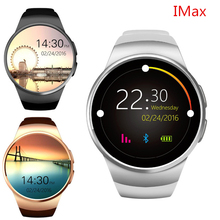 KW18 Heart Rate Smart Watch Bluetooth Smartwatch SIM Compatible For Apple IOS Android
