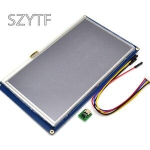 Image 2 - Nextion 7,0 дюйма TFT сенсорный экран 800x480 UART HMI умный ЖК модуль панель дисплея для Raspberry Pi