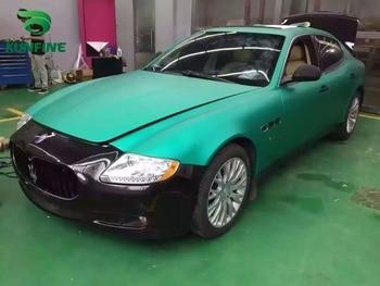 Car Styling Wrap Matt Ice Green Car Vinyl film Body Sticker Car Wrap With Air Free Bubble For Vehiche 1.52*20 M / Roll